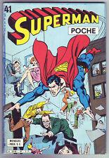 ! SUPERMAN POCHE N°41 en TRES BON ETAT !