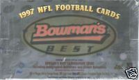 1997 Topps Bowman's Best Football Trading Card Box