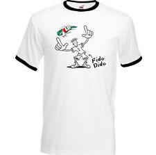 Fido Dido T-Shirt Mens Retro 7Up Fizzy Drink Coca-Cola