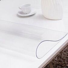 Tischfolie 2 mm Schutzfolie Tischdecke Tischschutz Folie Transparent Klar PVC