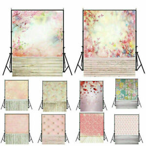 Flower Floral Photography Backdrop Wall Studio Photo Background Prop 3x5ft 5x7ft