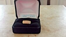 Mens Ring 14K Gold diamond ring sz10.5 MSRP $4150
