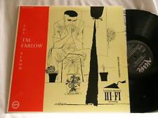 The TAL FARLOW Album Oscar Pettiford Joe Morello Barry Galbraith Verve JAPAN LP