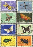Rumänien 2260-2267 (kompl.Ausg.) gestempelt 1964 Insekten