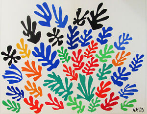 HENRI MATISSE - ACANTHES - ORIGINAL  LITHOGRAPH - 1958 - FREE SHIP IN THE US  !!