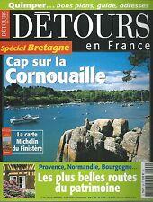 DETOURS EN FRANCE 99.CORNOUAILLE, ROUTES DU PATRIMOINE...ES9