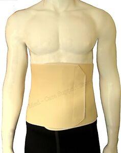 NEW Hernia Waist Support Belt Post Surgery Solid Lightweight FIRM Abdominal Pain