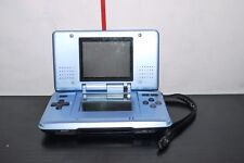 NINTENDO DS BLUE CONSOLE WORKING BROKEN HINGE