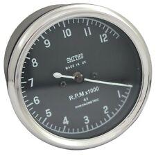 Smiths Replica Tachometer Tacho Meter 0-12 RPM x 1000 For BSA Vincent Ariel GEc