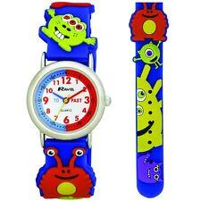 Ravel Monster 3D Kids Green Time Teacher Quartz Watch R1513.60