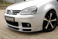 Rieger Spoilerlippe für VW Golf 5 V R32 inkl. Schwert 00059420  RIEGER-Tuning