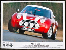 ROVER GROUP - ACV 30 MINI PRESS PHOTOGRAPH COLOUR 67 MINI 97