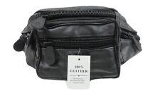 SADIS Men/Women Original Leather Waist Belt Bumbag Pouch Keys Sports Mobile Cash