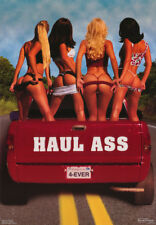 LOT OF 2 POSTERS : HAUL ASS - SEXY FEMALE MODELS - FREE SHIPPING  #3206   RC2 T