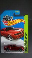 2013 Hot Wheels Chevy Camaro Special Edition Red 1:64 Die-cast 2014 HW Workshop