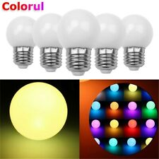 RGB LED Blub Light Auto Color Change E27 3W Coloful Lamp 110V 220V Party Decor K
