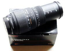 Sigma DG 70-300 mm f/4.0-5.6 DG Lentille Pour Pentax K AF (Noir)