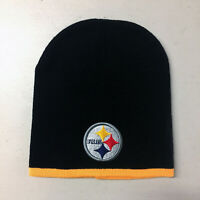 Pittsburgh Steelers Short Beanie Skull Cap Hat Embroidered PIT
