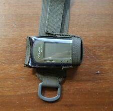 CUSTOM MADE GARMIN GPS WRIST POUCH RANGER GREEN RLCS SFLCS CRANE 401 301 201 101