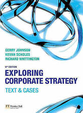 Exploring Corporate Strategy: Text & Cases (8th Edition) (Exploring-ExLibrary