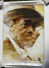Duke Ellington 1899-1974•art by Waldemar Swierzy•Polish Poster 26x38 Rare