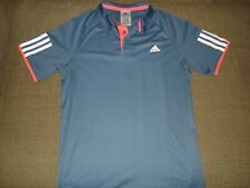 Adidas Barriacade Climalite Tennis Polo Shirt BOY'S Size Large