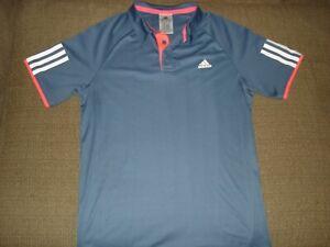 Adidas Barriacade Climalite Tennis Polo Shirt BOY'S Size Large