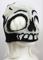 Halloween Costume Adult Skull Half Face Ski Mask Overhead