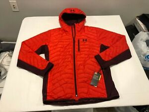 NWT $190.00 Under Armour Mens CG Storm Reactor Hybrid Jacket Red Size LARGE