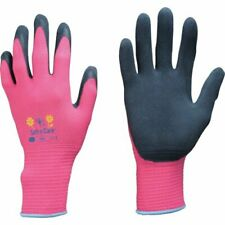 More details for women's soft n' care flora gardening diy gloves pink size 7 s