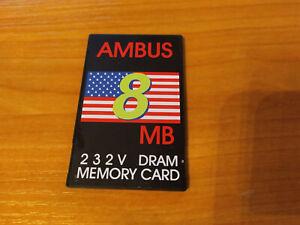 JEIDA AMBUS DRAM 8MB MEMORY CARD