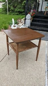 Vintage Side End Table Mid Century Modern BaumRitter Table RARE