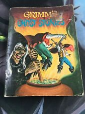 7ig Little Book Grimm's Ghost Stories  5778 Whitman 1976 Horror Scary 5778-1
