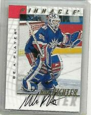 MIKE RICHTER 1998 PINNACLE BE A PLAYERR CERTIFIED AUTOGRAPH