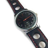 One Hand Watch Luch Mechanical 15 jewels Unisex Single Hand, Speed. RUS logo.