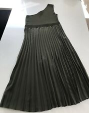 Ted Baker Miriom One Shoulder Pleated Dress Ted Size 4 UK 14 ***Current Season**
