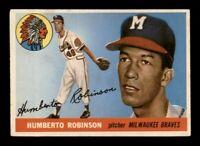 1955 Topps Set Break # 182 Humberto Robinson EX *OBGcards*