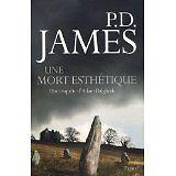 P-D James et Odile Demange - Une mort esthétique - 2009 - Broché
