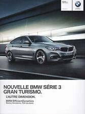 brochure 2013 BMW Série 3 GRAN TURISMO !!!__________ en français _______________