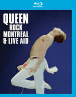 Queen: Rock Montreal/Live Aid Blu-Ray (2016) Queen cert E ***NEW*** Great Value