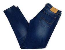 JACK & JONES LIAM Skinny Fit W32 L31 Mens Blue Denim Jeans Intelligence SC660