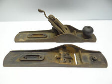 2 Antique Bailey No 5 Pat 1902 1910 Carpentry Woodworking Planes Planers Tools
