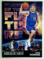 Luka Doncic 🔥📈 Future 🐐 2018-19 NBA Hoops - Faces Of The Future Rookie Dallas