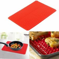 Pyramid Silicone Baking Mat Non Stick Oven Cooking Low Fat Tray Sheet Pan Cook