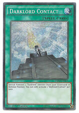 Darklord Contact DESO-EN035 Secret Rare Yu-Gi-Oh Card 1st Edition English Mint