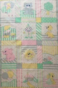 Patchwork quilting panels kids baby cushion quilt patches small squares