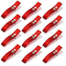 50pc Jumbo Wonder Clips Clamps CRAFT HOBBY SEW QUILTING Knitting Crochet Red