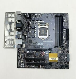 ASUS Q170M-C SUPPORTS 6TH GEN DDR4 SUPPORT LGA 1151 USB 3.0 5X PROTECTION +I/O