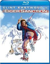 THE EIGER SANCTION New Sealed Blu-ray Clint Eastwood George Kennedy