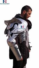 Medieval Reenactment Wearable Half Suit Of Armor Halloween Costume